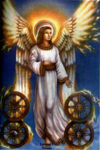 Angeles Tronos Caracteristicas Del Coro Angelico